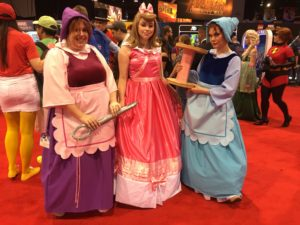 Top 23 Costumes at the 2017 D23 Expo / Cinderella