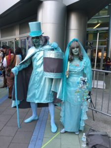 Top 23 Costumes at the 2017 D23 Expo / Haunted Mansion / Hatbox Ghost / Black Widow Bride