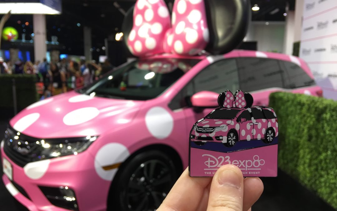 Throwback Thursday: D23 Expo 2017: Celebrating Minnie at the Honda Booth
