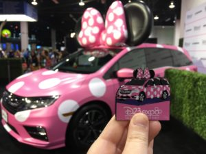 "D23 Expo 2017: Celebrating Minnie at the Honda Booth / ""Minnie"" Van"