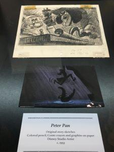 "D23 Expo 2017: ""A Pirates Life for Me!"" – A Tour of the Walt Disney Archives Exhibit / Peter Pan / Captain Hook"