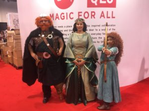 Top 23 Costumes at the 2017 D23 Expo / Brave / Merida / King Fergus
