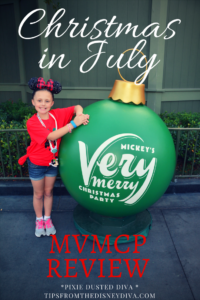 Christmas in July Mickey's Very Merry Christmas Party