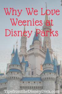 Weenies at Disney Parks