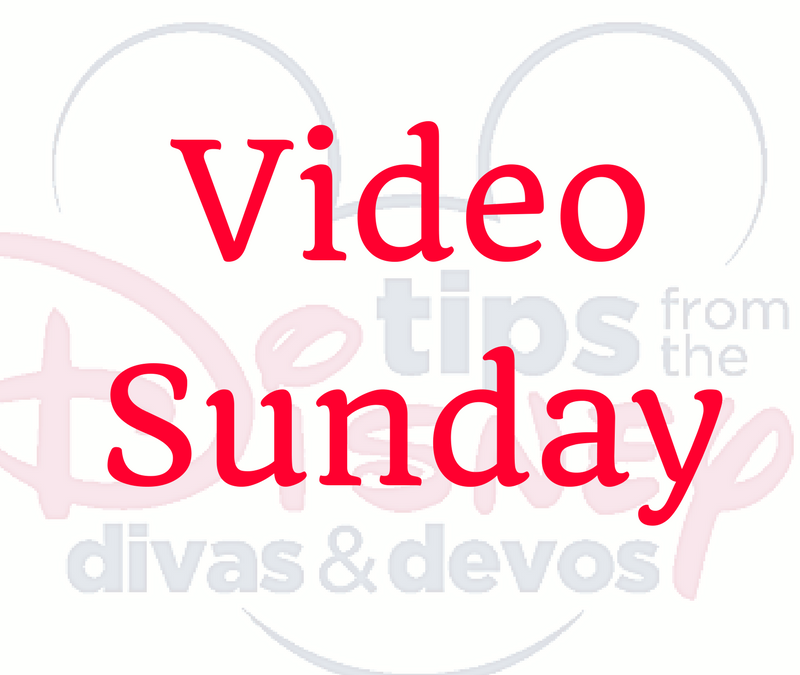 Video Sunday: Disney Dining Plan Tip