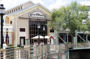 Boatwrights Dining Hall at Walt Disney World's Port Orleans Riverside