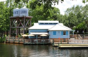 Ferry Dock at Walt Disney World's Port Orleans Riverside