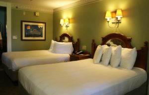 Walt Disney World's Port Orleans Riverside room