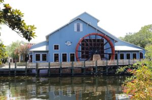 The mill at Walt Disney World's Port Orleans Riverside Resort