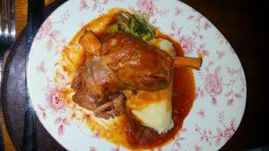 Raglan Road Lamb / Bímis ag ithe! A Wonderful Dinner at Raglan Road