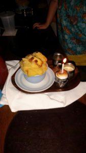 Raglan Road bread pudding / Bímis ag ithe! A Wonderful Dinner at Raglan Road