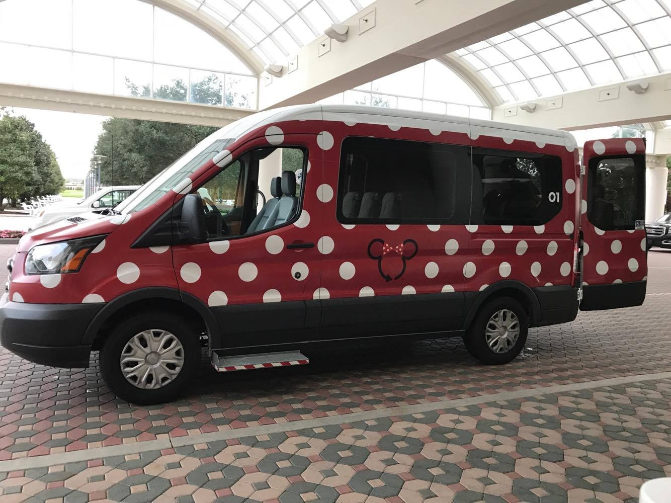 """Lyft Cancel Ride >> Take a Ride in a """"Minnie"""" Van at the Walt Disney World Resort! - Tips from the Disney Divas and ..."""
