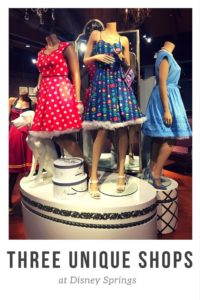 Dress shop at Cherry Tree Lane, Disney Springs, Marketplace Co-op, shopping at Disney