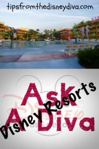 Ask a Diva - Disney Resorts