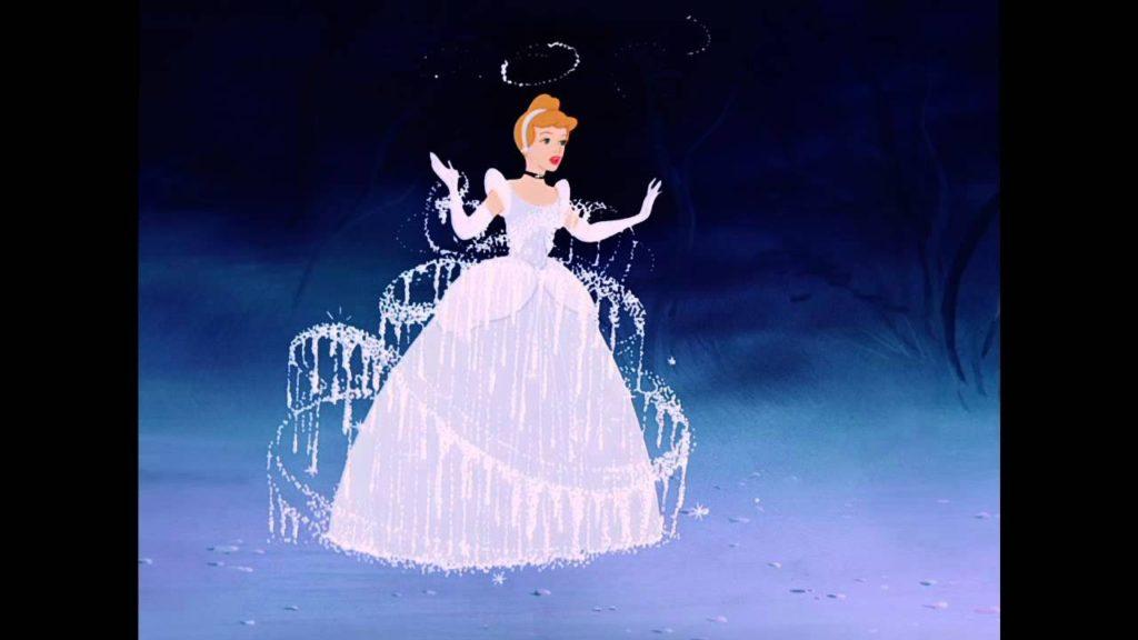 The Most Important Disney Movie Scenes in History / Cinderella / Cinderella's Dress Transformation