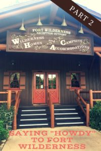 Fort Wilderness Campground and Cabins, Walt Disney World Resort, camping in an RV