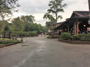 Fort Wilderness campground and cabins, Hoop-de-doo Review at Pioneer Hall, Mickey's Backyard BBQ, Trail's End Restaurant, Crockett's Tavern
