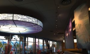 Walt Disney World Dining Options: Landscape of Flavors at Art of Animation Resort: Decor