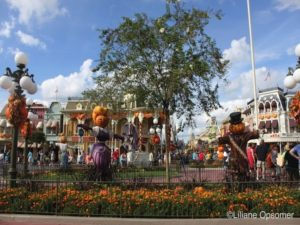 Magic Kingdom's Main Street USA in Fall
