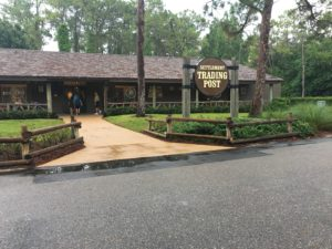 Fort Wilderness campground and cabins, resort shop, Settlement trading post