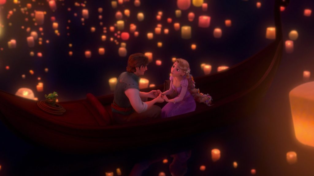 The Most Important Disney Movie Scenes in History / Tangled / I See the Light Sequence