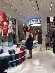 Shopping at Disney Springs, Uniqlo, Walt Disney World