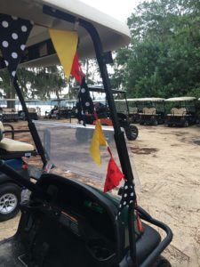 Fort Wilderness campground and cabins, golf carts, parade, holidays
