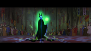 The Most Important Disney Movie Scenes in History / Sleeping Beauty / Maleficent Entrance