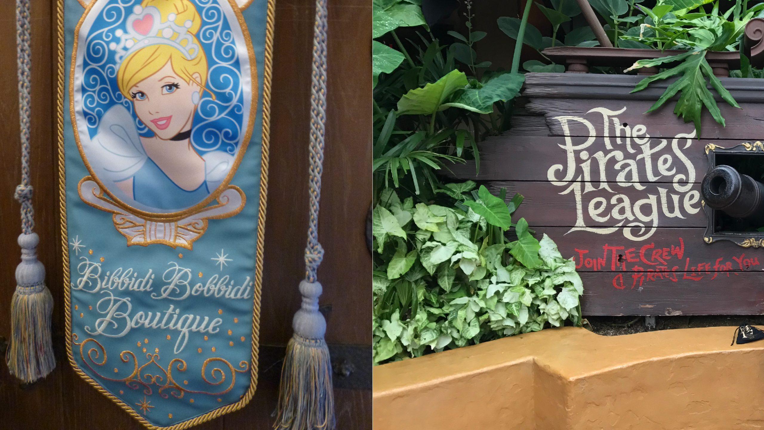 Disney's Bibbidi Bobbidi Boutique vs. The Pirates League: Which to Choose?