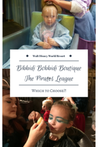 Disney's Bibbidi Bobbidi Boutique vs. The Pirates League: Which to Choose?