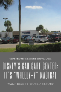 "Disney's Car Care Center: It's ""Wheel-y"" Magical!"