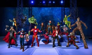 Marvel Universe Live! Age of Heroes.... Coming to a City Near You!