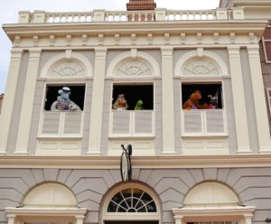 Great Moments in History, the Muppets at Walt Disney World's Magic Kingdom
