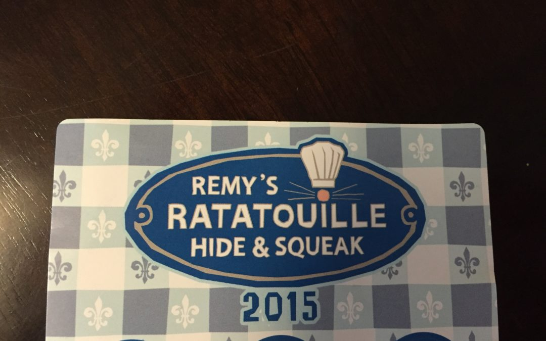 Throwback Thursday: Remy's Ratatouille Hide & Squeak during Epcot's International Food & Wine Festival