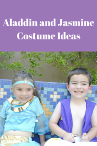 Aladdin and Jasmine Costume Ideas