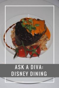 Ask a Diva: Disney DIning