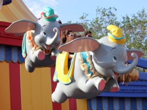Dumbo the Flying Elephant Disney Magic Kingdom