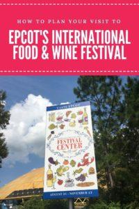 Epcot International Food and Wine Festival, festival center, Wonders of Life pavilion