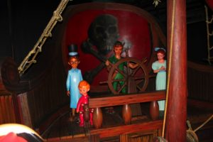 Inside Peter Pan Ride MK