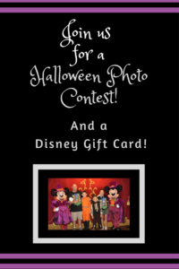 Disney Halloween Contest, Win a Disney Gift Card