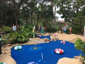 Winter Summerland Miniature Golf Course, Walt Disney World, non park day, Blizzard Beach