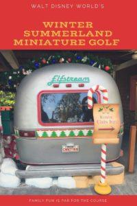Walt Disney World Miniature Golf, Winter Summerland, Blizzard Beach, non park day
