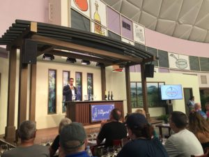 Epcot International Food and Wine festival, wine tasting, beverage seminar, World Showcase