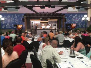 International Food and Wine Festival, culinary demonstration, seminar, Festival Welcome Center