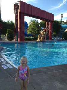 All Star Movie Hotel Pool, Disney World