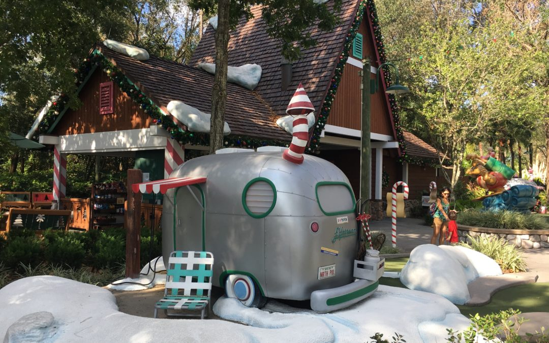 Winter Summerland Miniature Golf: Old-Fashioned Fun is Par for the Course