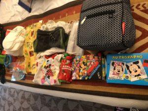 Park Bag Contents