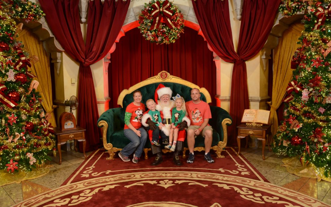 Throwback Thursday: Where to Find Santa at Walt Disney World