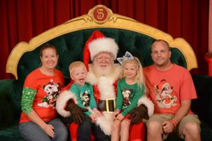 Santa at Hollywood Studios