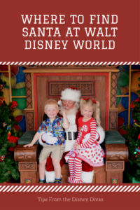 Where to Find Santa at Walt Disney World